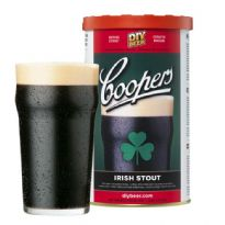 Coopers Brewmaster Irish Stout 1.7kg Beer Kit